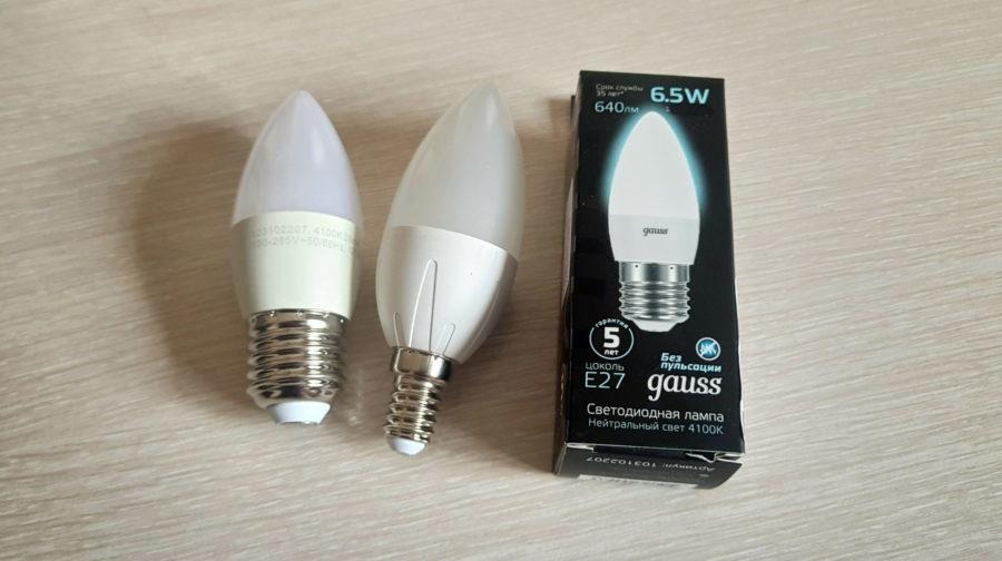 светодиодные лампы производителя gauss