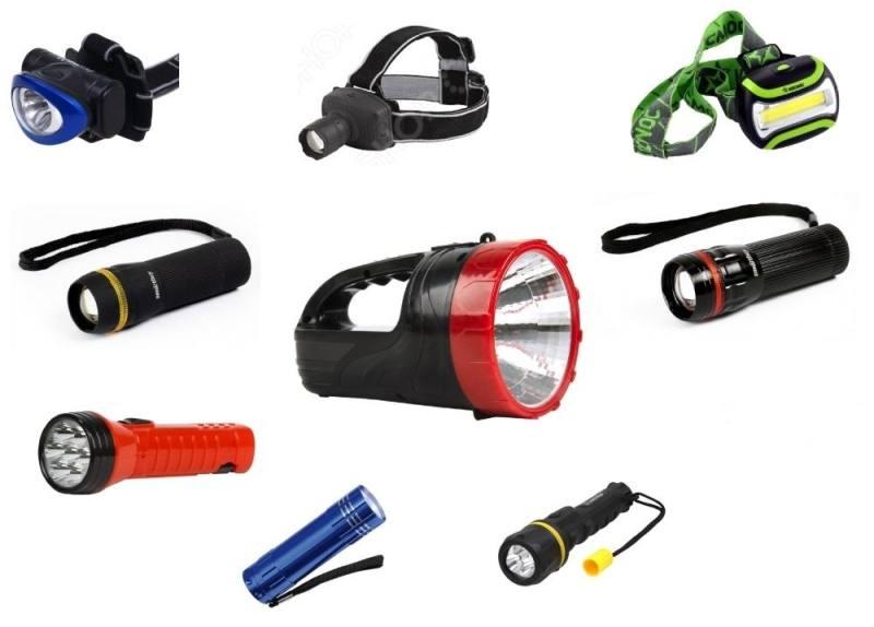 Какие светодиоды применяются для фонариков