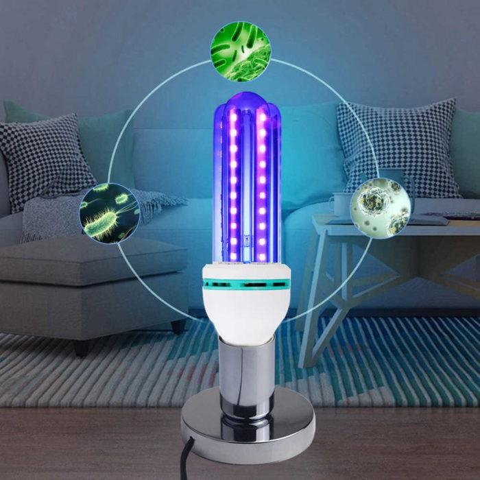 Бактерицидный электрический прибор