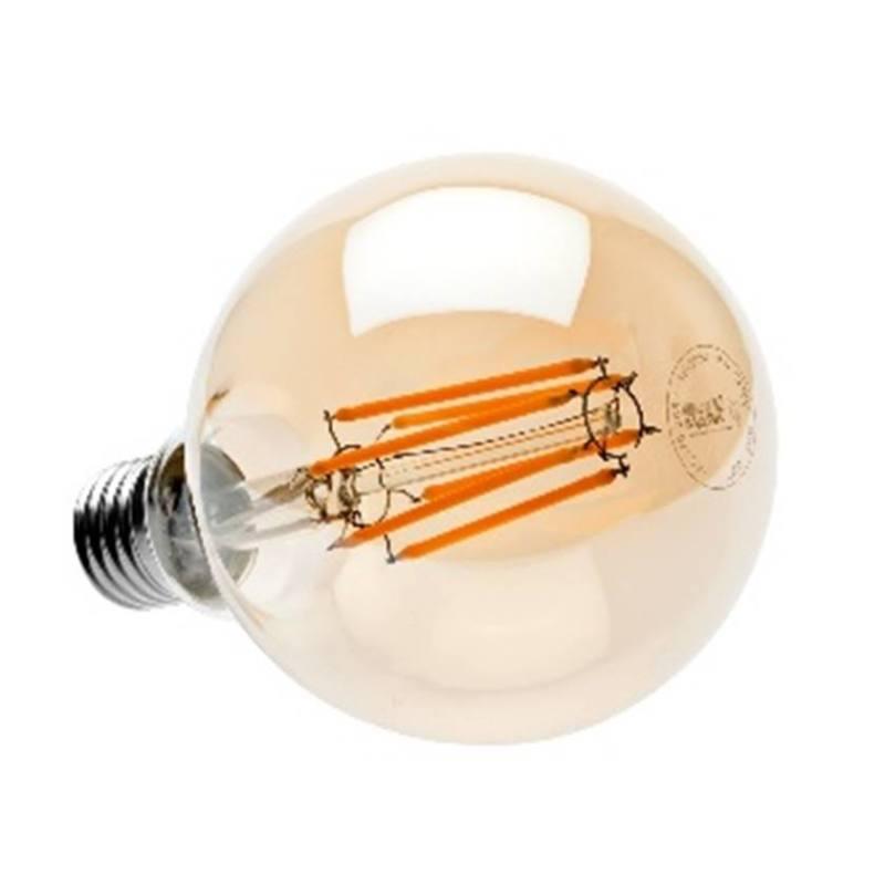 Современная филаментная светодиодная лампа