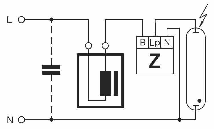 Использование конденсатора в схеме