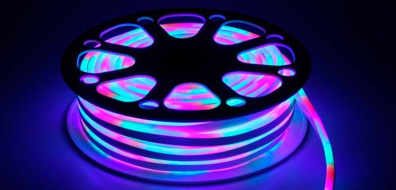 Подсветка типа RGB