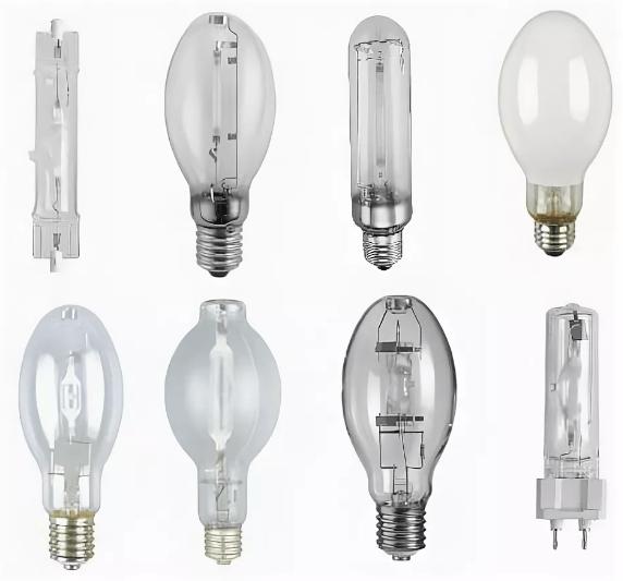 Характеристика газоразрядных ламп