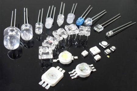 Маломощные светодиоды в разных корпусах