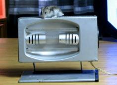 Одна из первых советских кварцевых ламп технического назначения