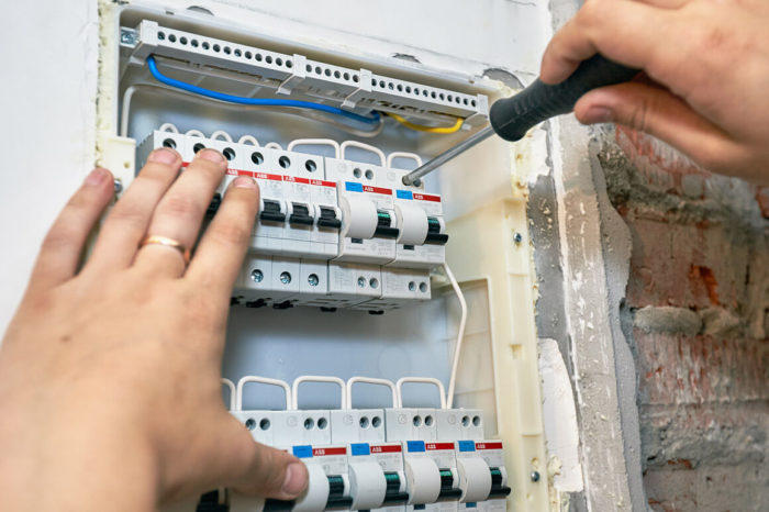 Проверка проводки и щитка