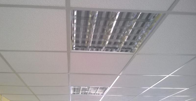 Что такое растровые светильники и способы их установки