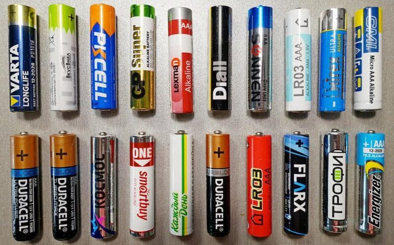 Пальчиковые батарейки.