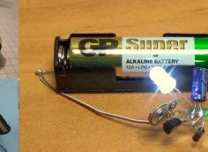 Рисунок 5. Собранная электрическая цепь прибора.