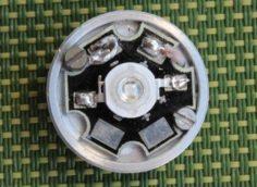 Замена штатных излучателей на мощный УФ-светодиод.
