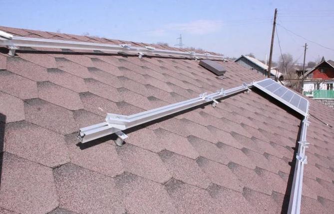 Пошаговый монтаж солнечных батарей на крышу