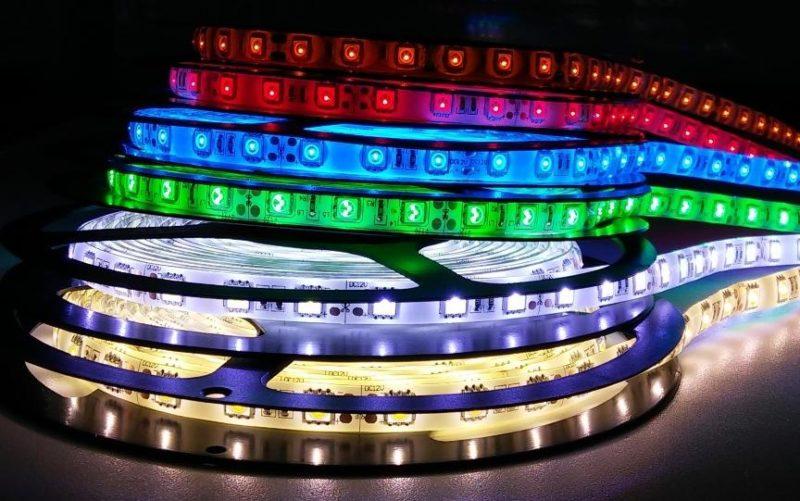 Выбор оттенков в светодиодных лентах огромен