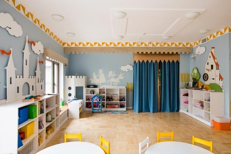 Особенности освещения в детских садах