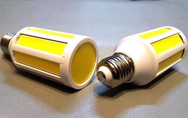 Бытовая лампа на COB-светодиодах.