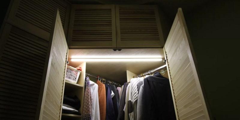 Идеи для оборудования шкафа подсветкой