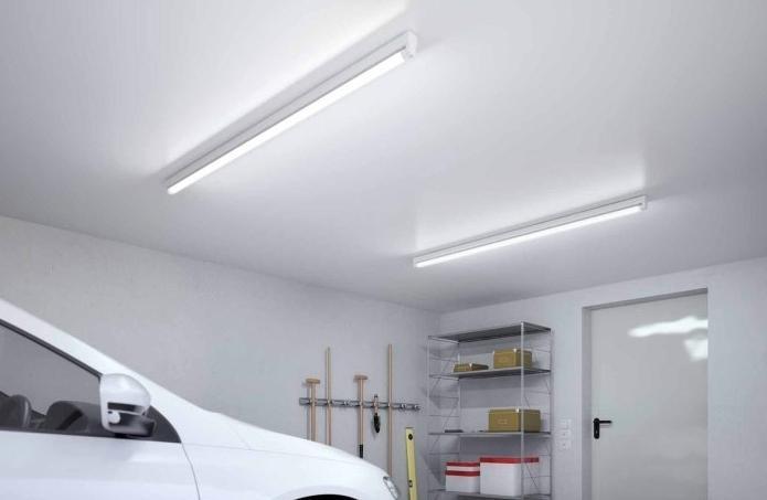 Проводка освещения в гараж своими руками