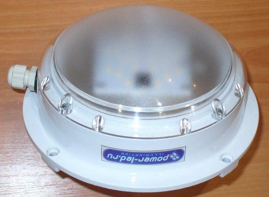 Герметичный термостойкий светодиодный светильник