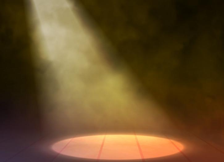 источник света может располагаться сверху.