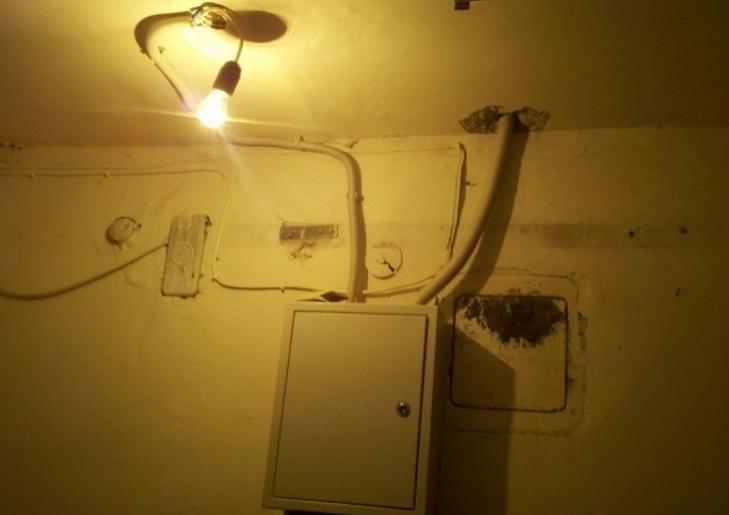 Лампочка без плафона