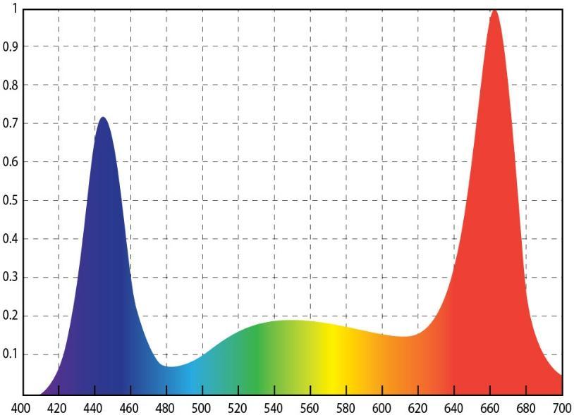 Спектрограмма позволит выбрать именно тот свет