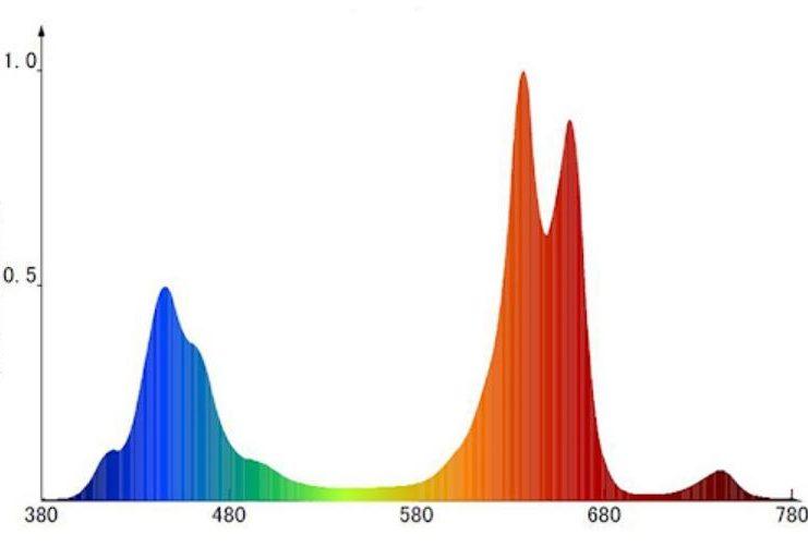 спектрограмма на упаковке
