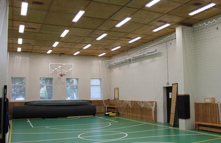Требования к освещению спортивных залов