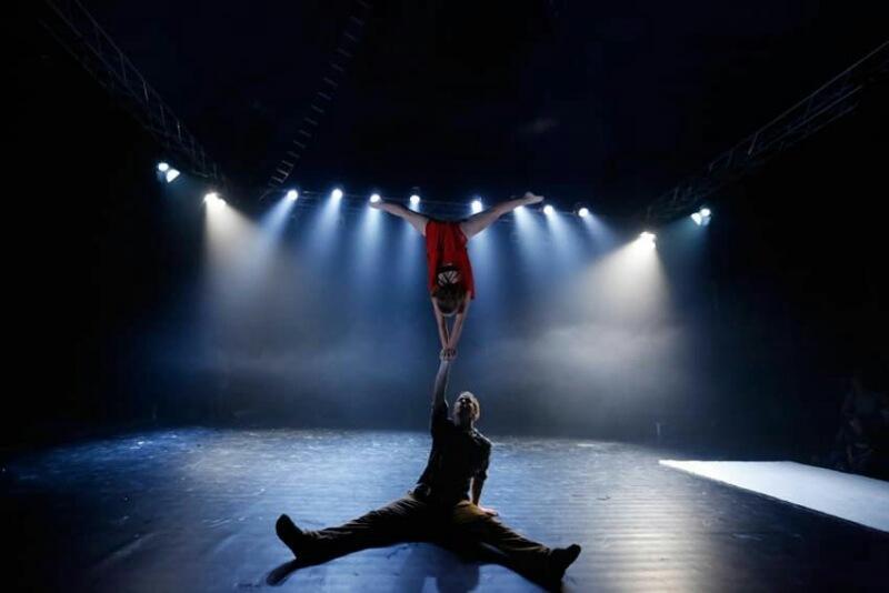 Театральная подсветка.