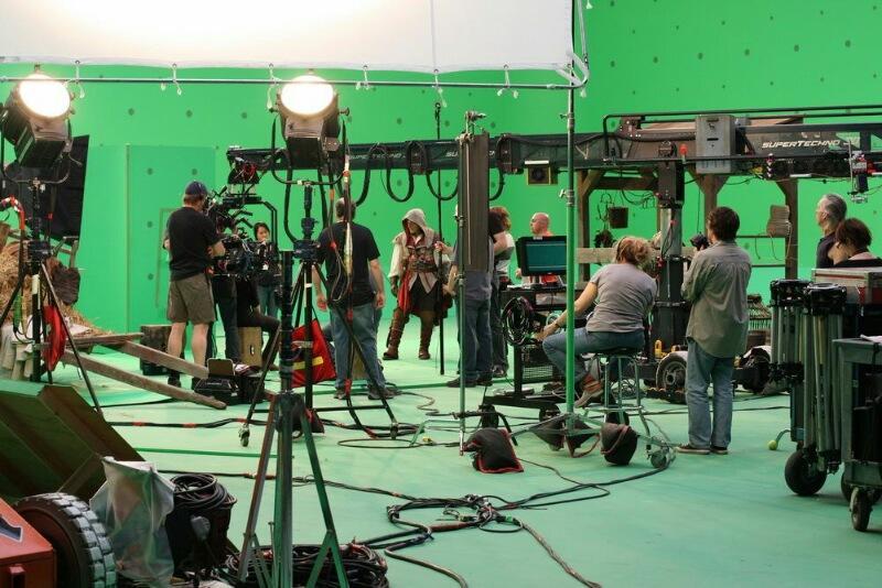 Киноиндустрия. Фотосъемка.