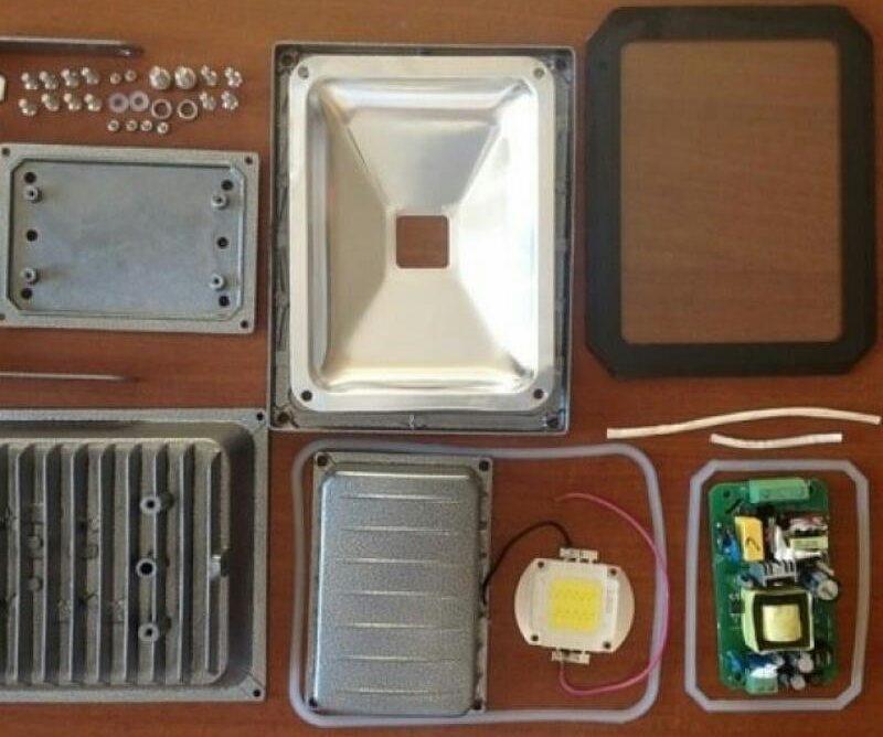 Сетевой драйвер с LED-чипом в