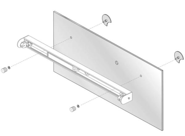 Установка и подключение зеркала с подсветкой в ванной