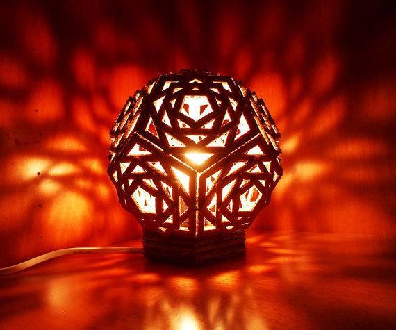 Самодельные бумажные светильники — выбор материала и конструкции