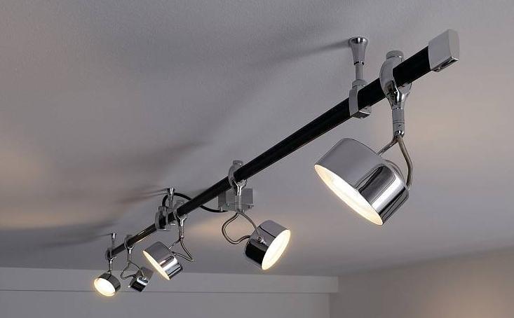 Каждый светильник настраивается индивидуально.