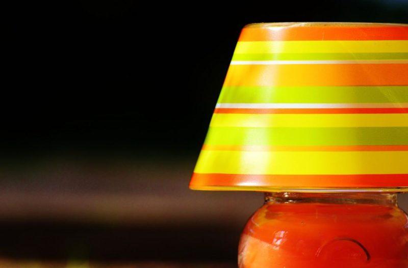 Самодельный настольный светильник — подробная инструкция