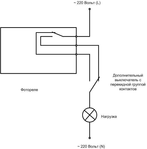Как правильно подключить фотореле к уличному освещению