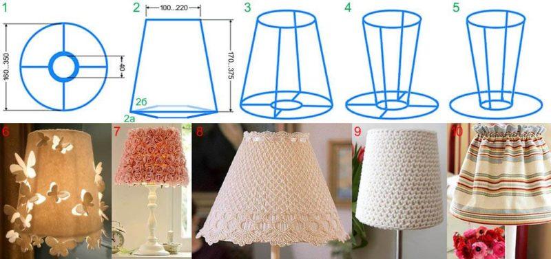 Как сделать напольный светильник своими руками