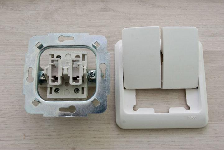 Как правильно установить и подключить двойной выключатель