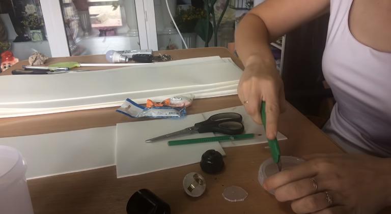 Пошаговая инструкция по изготовлению светильника из изолона