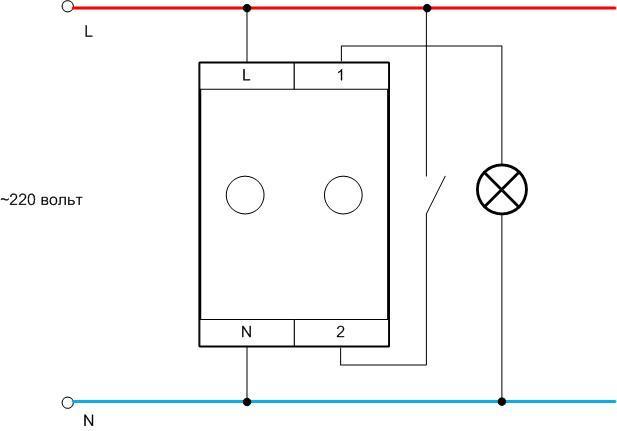 Схемы подключения диммеров с выключателем и вместо него