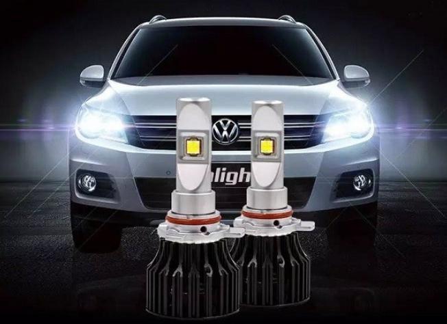 Как установить светодиодную лампу h7