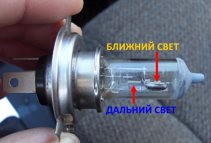 Подключение и установка светодиодных ламп в фары Н4