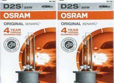 Osram Xenarc Original 66240 D2S 2 pc | eBay