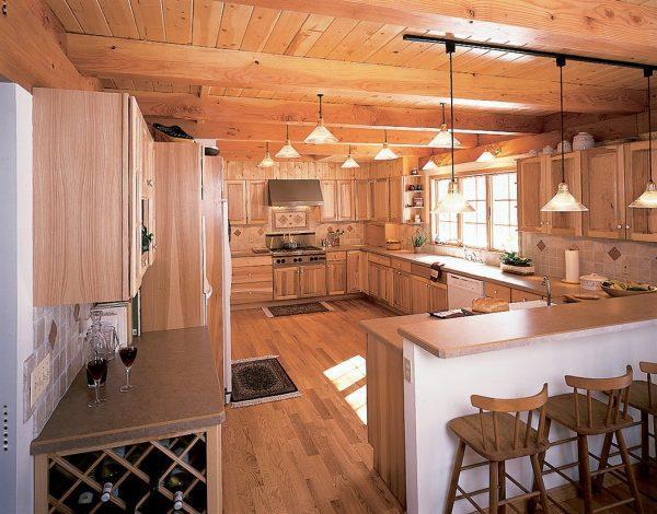 Освещение в деревянном доме: полезные советы и рекомендации