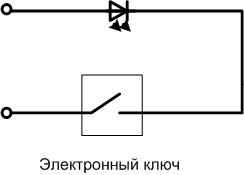 Выключатель с регулятором яркости для светодиодной лампы