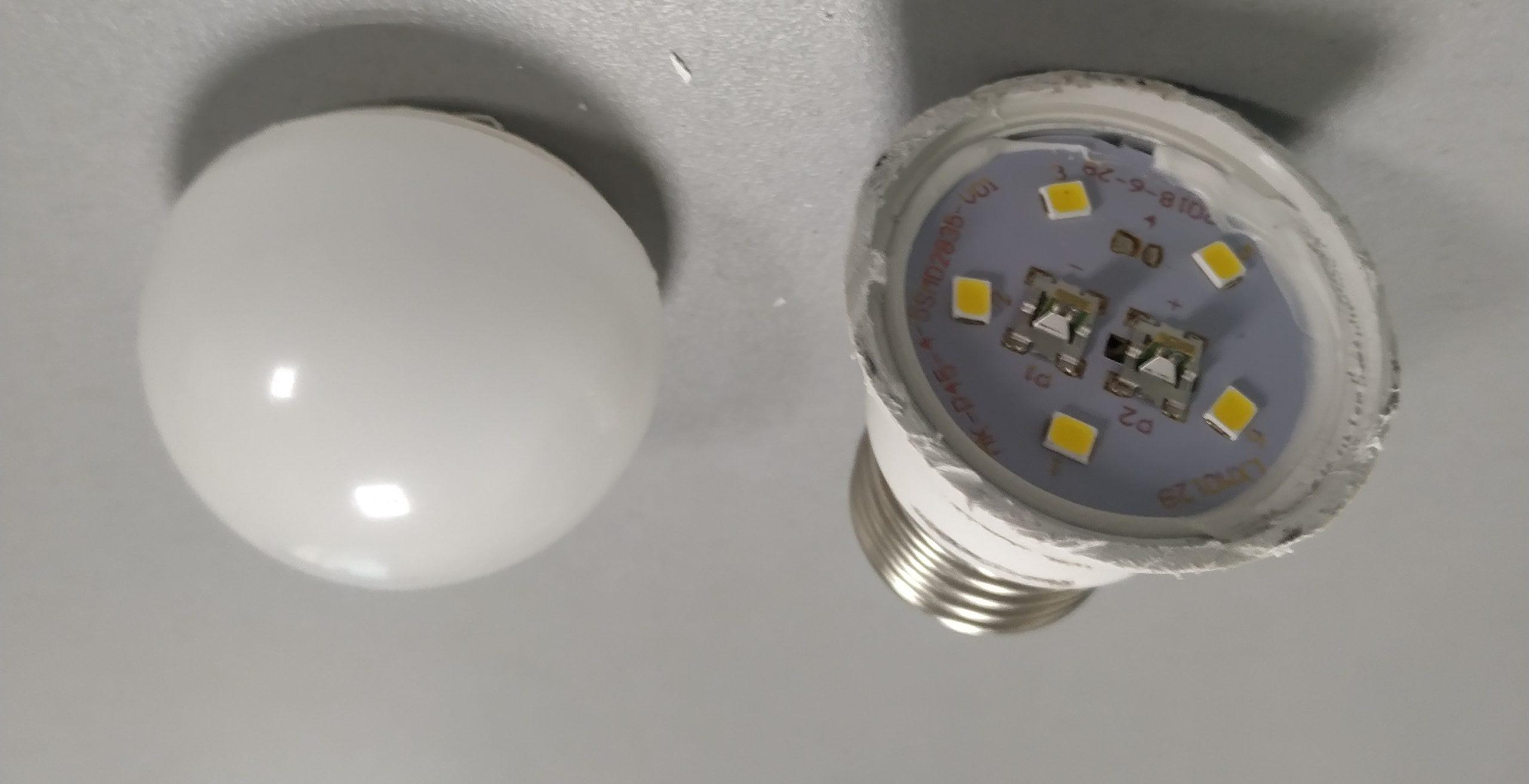 Как в домашних условиях отремонтировать светодиодную лампочку